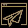 Customer Relationship Management (CRM) Icon